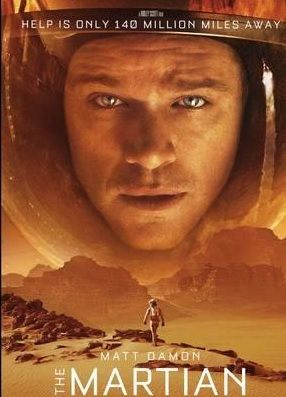 Martian BluRay